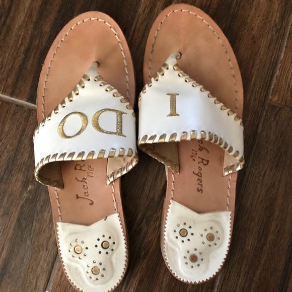 4cbbf4f4c738 Jack Rogers Shoes - Jack Rogers  I DO  wedding sandals